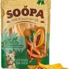 Soopa Papaya Natural Chews