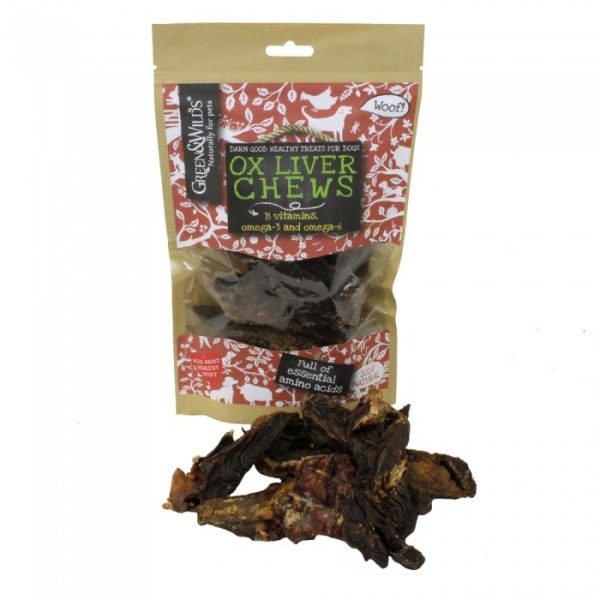 Green & Wilds Ox Liver Chew Dog Treats