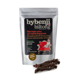 ByBenji Biltong Treats for Dogs Super Sticks 80g