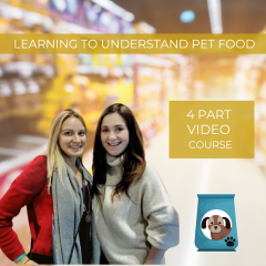 Learning to Understand Pet Food Course